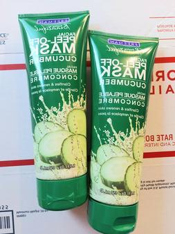 2 FREEMAN FEELING BEAUTIFUL FACIAL CUCUMBER  PEEL-OFF MASK 6