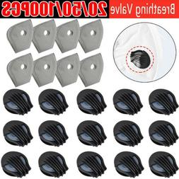 20-100Pcs Breathing Valve Outdoor Air Breather Filter Face M