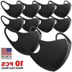 5pc and 2pc black face fashion mask