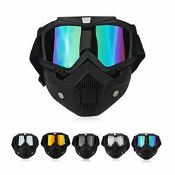 Tactical SOFT BULLETS/DART Face Mask Goggles Paintball Airso