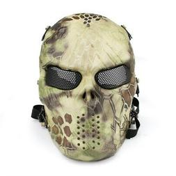 Airsoft LRON BLOODED SKULL MASK - Full Face Protection