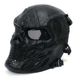 Airsoft Paintball Tactical Face Protection Mask Combat Skull