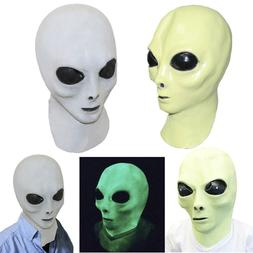 Alien Mask Latex UFO Extra Terrestrial Movie Roswell Fancy D