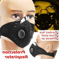 Anti Dust Air Purifying Face Mask Filter Multi Layer for Men