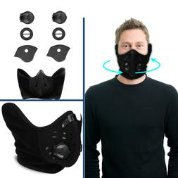 Anti Dust Air Purifying Half Face Mask With Filter For Motor