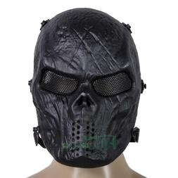 Army Outdoor Airsoft Paintball Tactical Full Face Protection