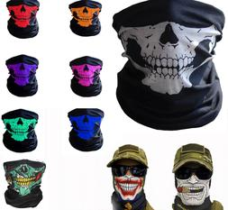 Balaclava Face Mask Skull Biker Dust Weather Motorcycle Neck