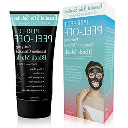 Black Charcoal Peel Off Mask for Face - Brightening Blackhea