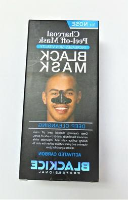 Black Ice Charcoal Peel Off Mask Pack-FOR MAN -Black Ice Col