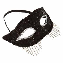Claires Black Fringe Halloween Womens Accessories Costumes E
