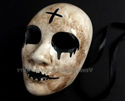 Cross men mask The Purge Horror Anarchy Movie Halloween Cost