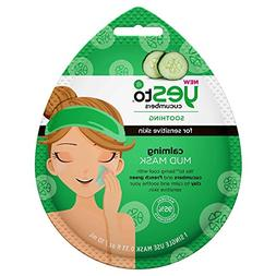 Yes To Cucumbers Single Use Mud Mask.0.33oz , pack of 1