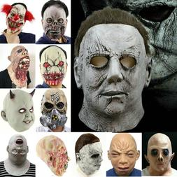 Deluxe Michael Myers Mask Halloween II Latex Full Head Adult