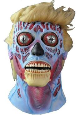 Donald Trump Alien Mask They Live Fancy Dress Halloween Adul