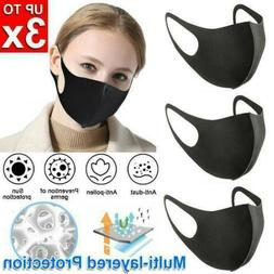Face Mask 1-10 Anti-Dust Pollution Outdoor Reusable Washable