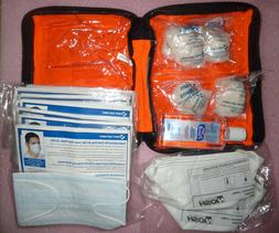 First Aid Only Flu Virus Germ Pandemic Outbreak Supplies Kit