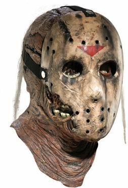 Friday The 13th Part 1 Jason Dlx Adult Mask With Removable H