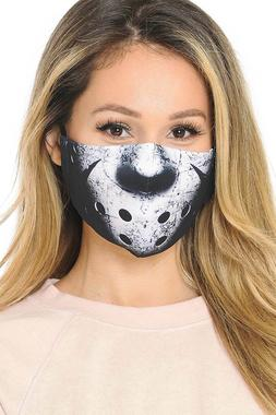 Friday the 13th Graphic Print Face Mask PM2.5 Filter Pocket