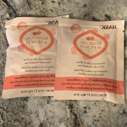 Hask Hair Deep Conditioner Mask Rose Oil & Peach Color Perfe