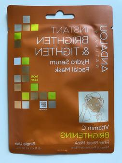 Hydro Serum Facial Mask Brightening & Tighten Andalou Natura