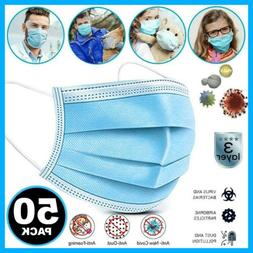 KN95 Single Face Mask Personal Protection Covers Mouth & Nos
