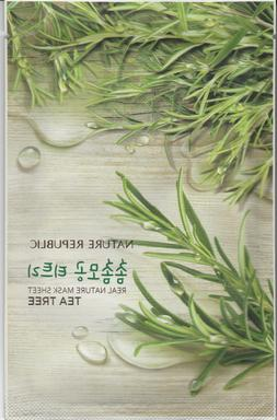 Nature Republic Korean Beauty Sheet Face Mask Set 5x Natural