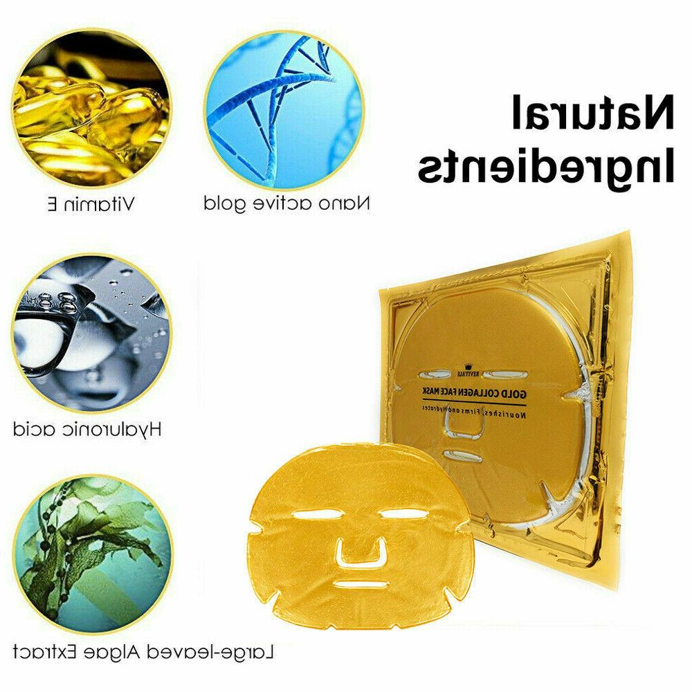 24K Gold Face Mask Moisture Aging Remove