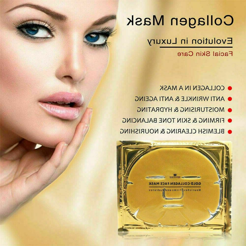 24K Gold Collagen Face Aging Remove Wrinkle Patch