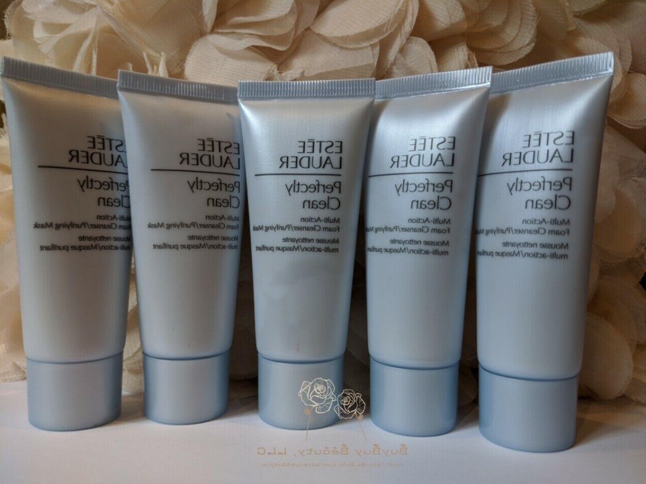 5 perfectly clean multi action foam cleanser