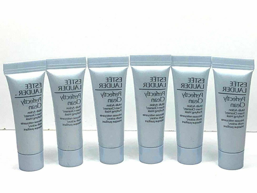 6x perfectly clean multi action foam cleanser