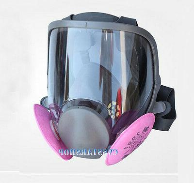 Safety Painting Spraying same For 6800 Gas Mask Full Face Fa