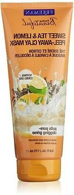 Freeman Facial Mask Sweet Tea & Lemon Peel Away 6 oz.