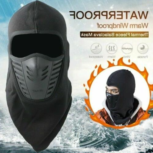 Latest Windproof Fleece Neck Warm Balaclava Ski Full Face Ma