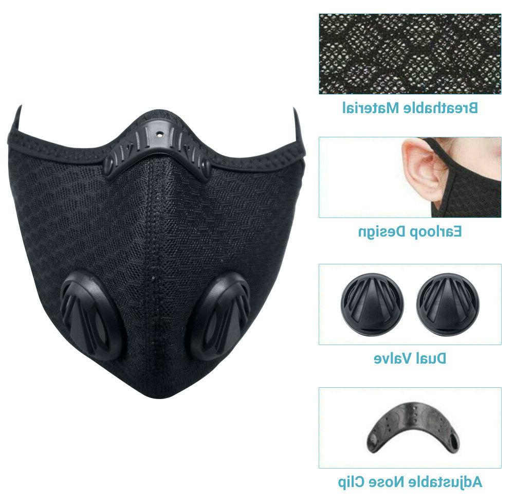 Activated Carbon Mask 5 Cycling Outdoor