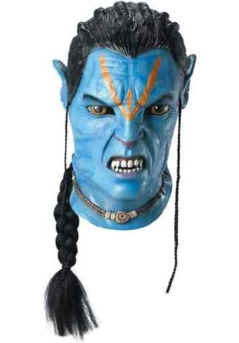 Avatar Movie Jake Sully Overhead Latex Adult Mask