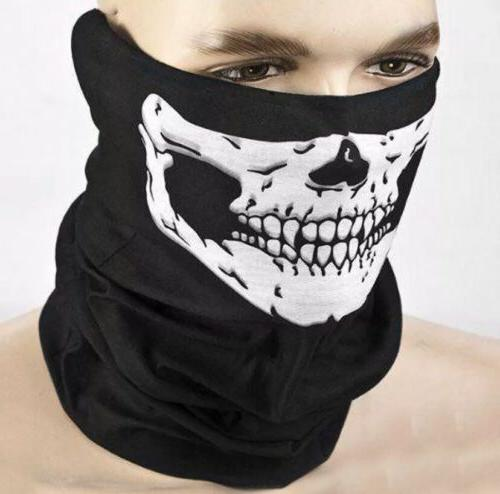 balaclava face mask skull biker dust weather