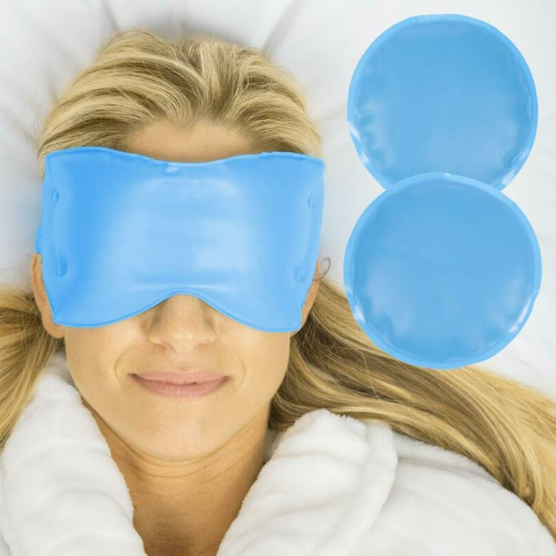 Arctic Flex Cold Eye Mask - Gel Ice Pack For Cool Sleeping,