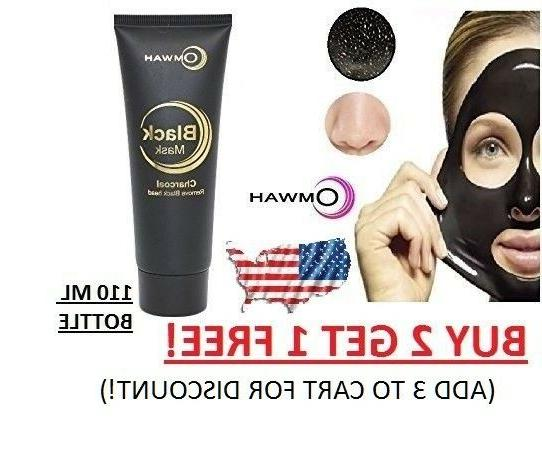 Charcoal Blackhead Remover Peel Off Facial Cleaning Black ma