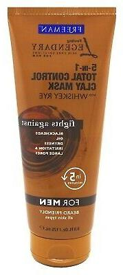 Freeman For Men 5-In-1 Total Control Clay Mask 6oz