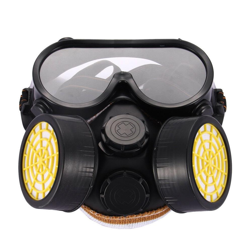 Respirator Gas Mask Safety Chemical Anti-Dust Filter Militar