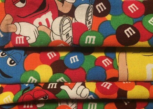 M&Ms and Fabric Face Mask