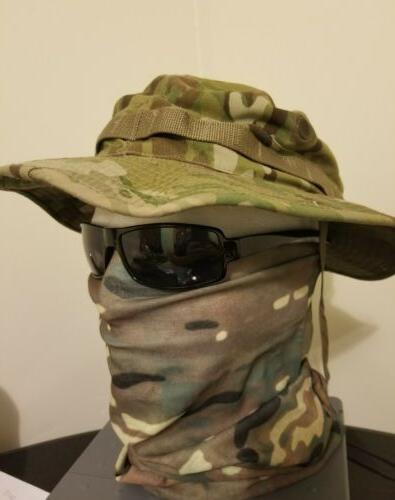Multicam face mask tactical military army