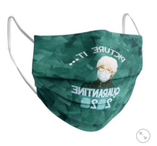 picture it quarantine 2020 face mask gift