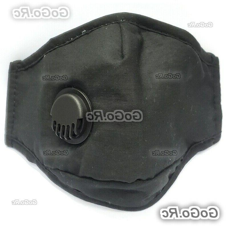 Reusable Washable Ventilation Port Face With 2 Filter
