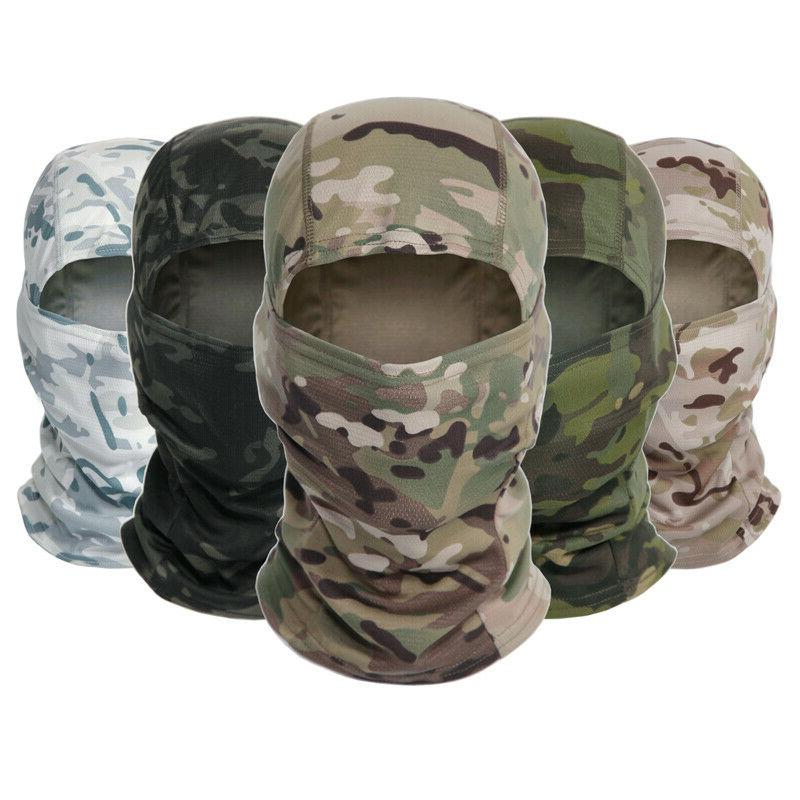 Tactical Camouflage Hunting Face Mask Scarves