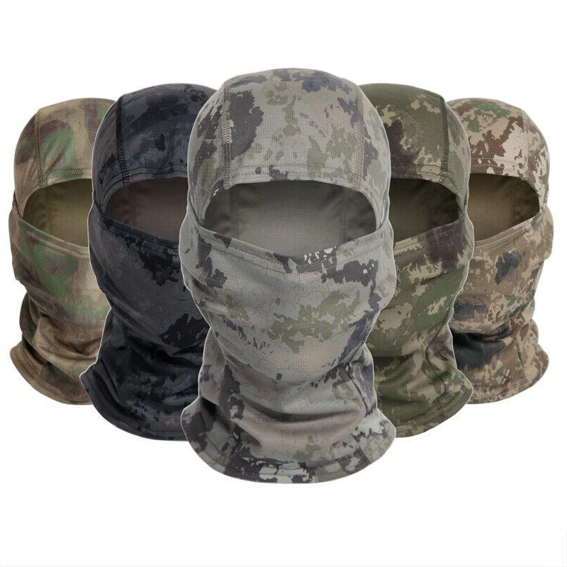 Tactical Camouflage Face Scarves Headwear
