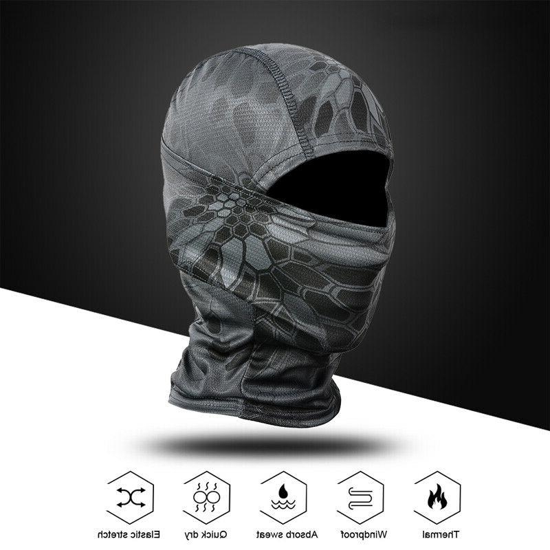 Tactical Hunting Balaclava Face Mask Neck Scarves Hat