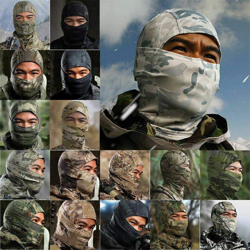 Tactical Camouflage Face Mask Scarves