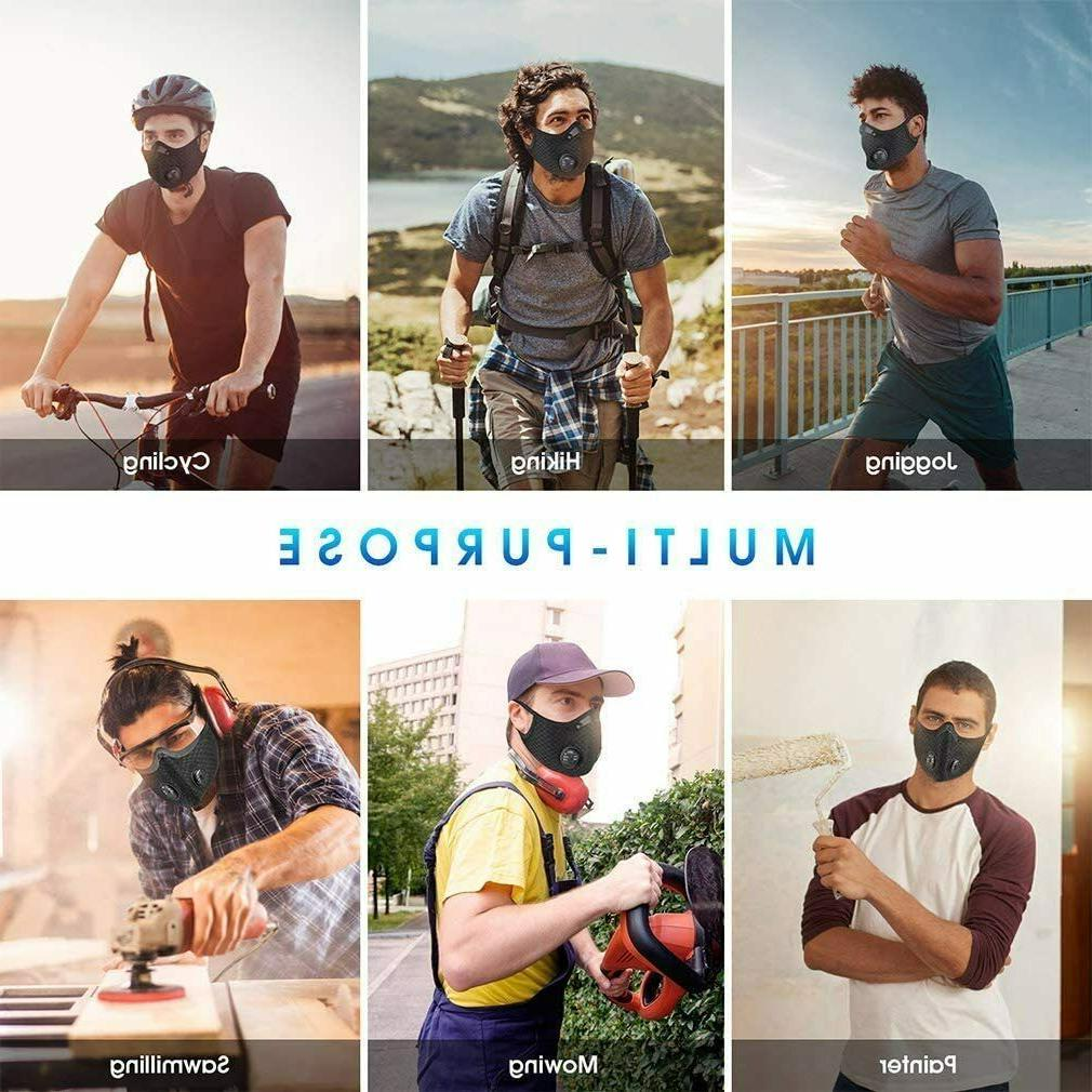 Mask 5 Layer Cycling Outdoor