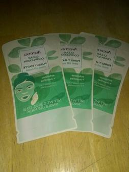 Lot 3 Aveeno Clear Complexion Purely Matte Peel Off Mask .35